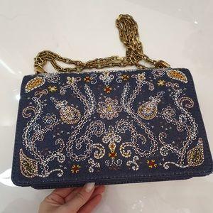 Dior Bags - Dior jadior denim crossbody medium bag